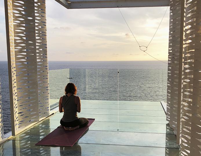 Yoga en Acapulco
